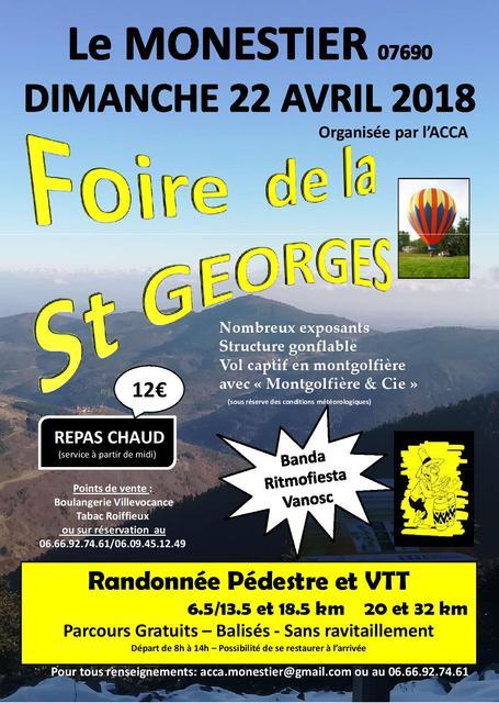 Foire de la st Georges randonnée VTT à Monestier Affiche_A4_-_-page-001